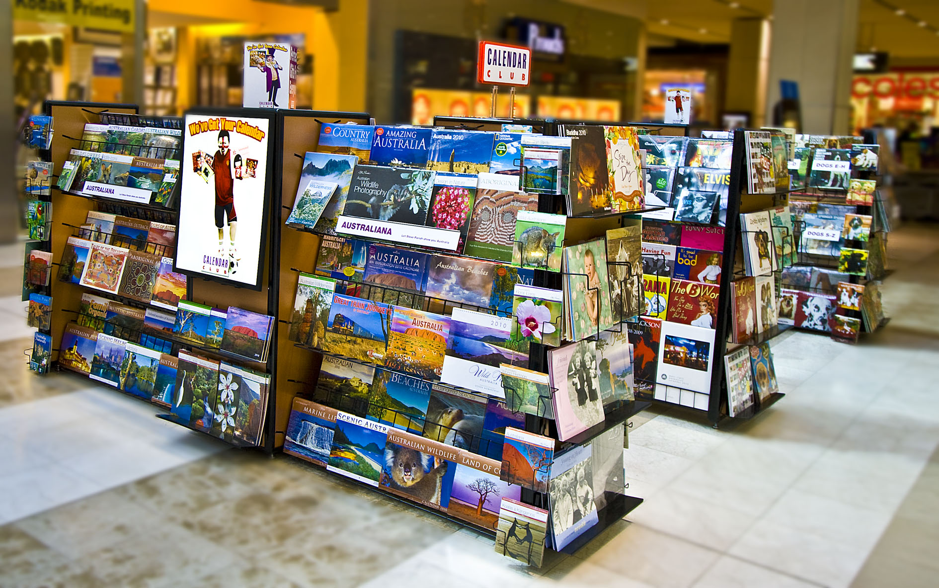 The Calendar Club is the Memorial City Mall's go-to destination for anything calendar related. Although Calendar Club normally operates a kiosk year-round, they set up shop in a vacant suite towards the end of the year to keep up with customer demand.5/5(1).