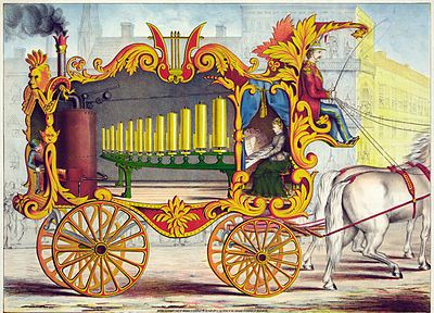 Calliope, the wonderful operonicon or steam car of the muses EDIT